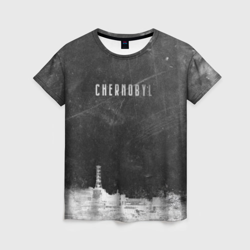 Женская футболка 3D Чернобыль 3