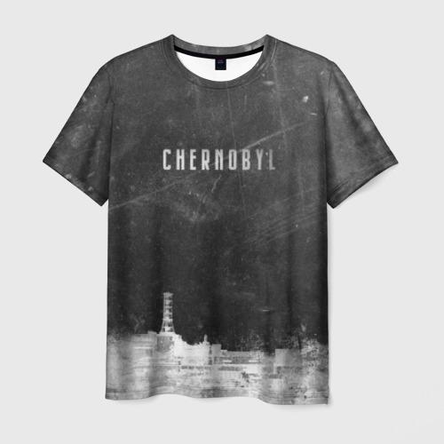 Мужская футболка 3D Чернобыль 3