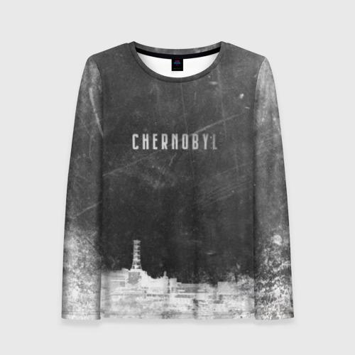 Женский лонгслив 3D Чернобыль 3