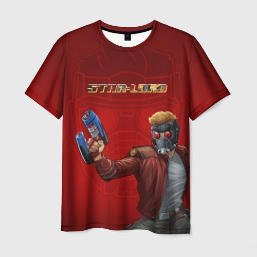 Мужская футболка 3D Star-Lord