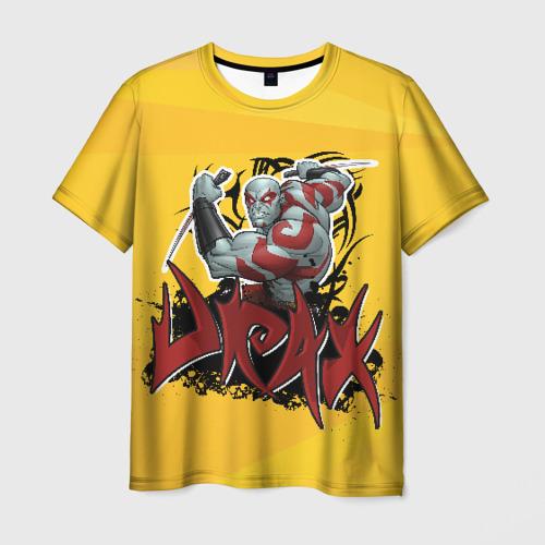 Мужская футболка 3D Drax