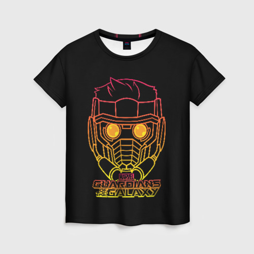 Женская футболка 3D Guardians of the Galaxy