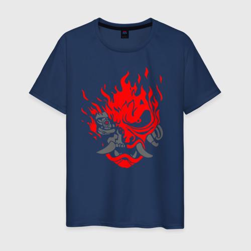 Мужская футболка хлопок CYBERPUNK 2077 KEANU REEVES | КИАНУ РИВЗ | КИБЕРПАНК 2077