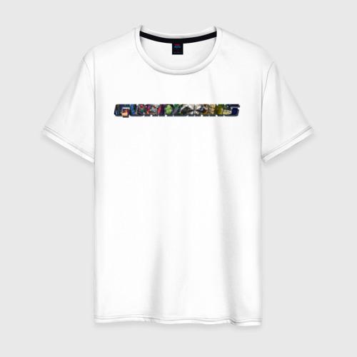 Мужская футболка хлопок Guardians of the Galaxy