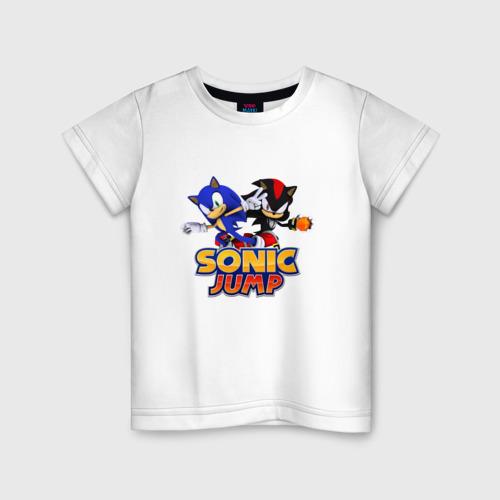 Детская футболка хлопок SONIC JUMP