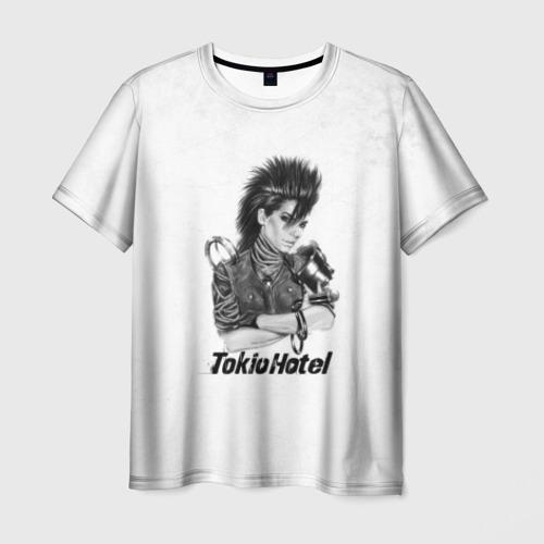 Мужская футболка 3D Tokio Hotel