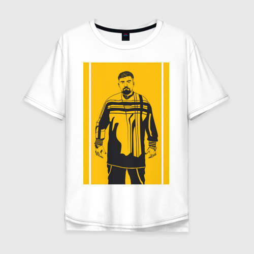 Мужская футболка хлопок Oversize Баста