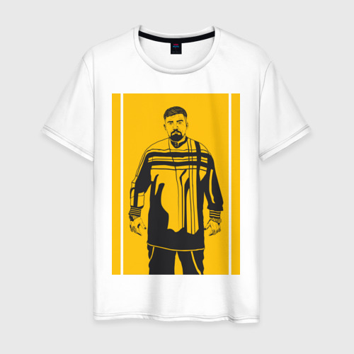 Мужская футболка хлопок Баста