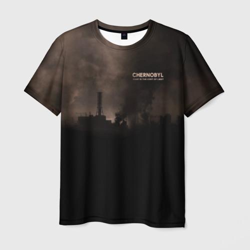 Мужская футболка 3D Чернобыль 6