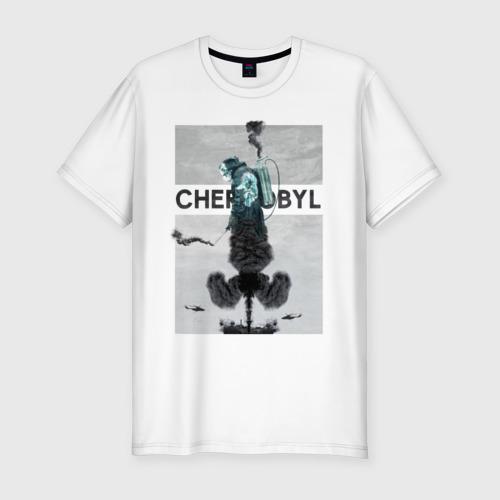 Мужская футболка хлопок Slim Чернобыль 11