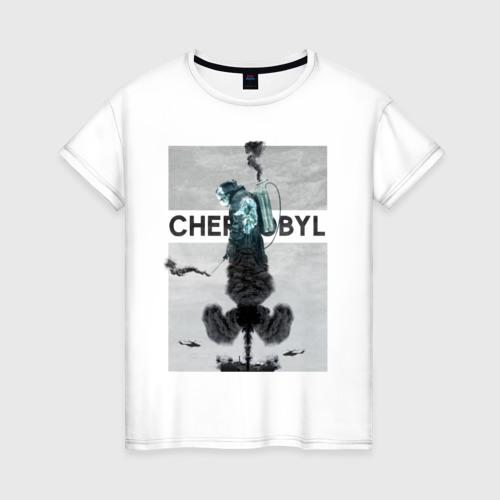 Женская футболка хлопок Чернобыль 11
