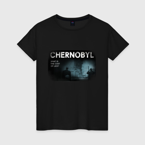 Женская футболка хлопок Чернобыль 14