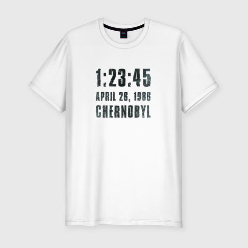 Мужская футболка хлопок Slim Чернобыль 15
