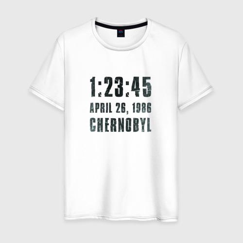 Мужская футболка хлопок Чернобыль 15