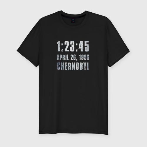 Мужская футболка хлопок Slim Чернобыль 16