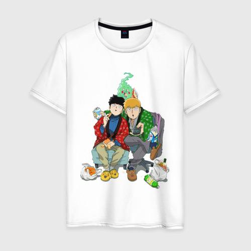 Мужская футболка хлопок Моб Психо 100