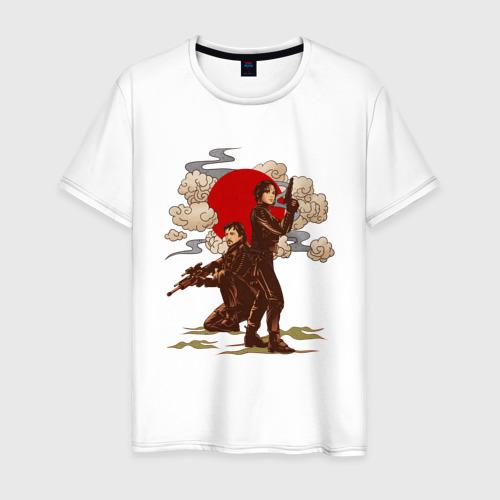 Мужская футболка хлопок Jyn and Cassian
