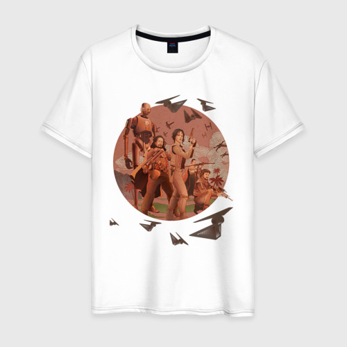 Мужская футболка хлопок Rebel Alliance