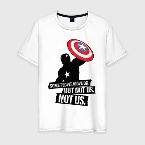 Мужская футболка хлопок Captain America