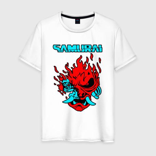 Мужская футболка хлопок SAMURAI KEANU REEVES | КИАНУ РИВЗ
