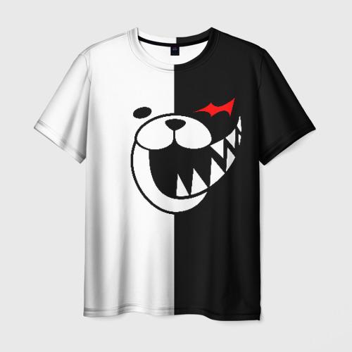 Мужская футболка 3D Monokuma открыл рот