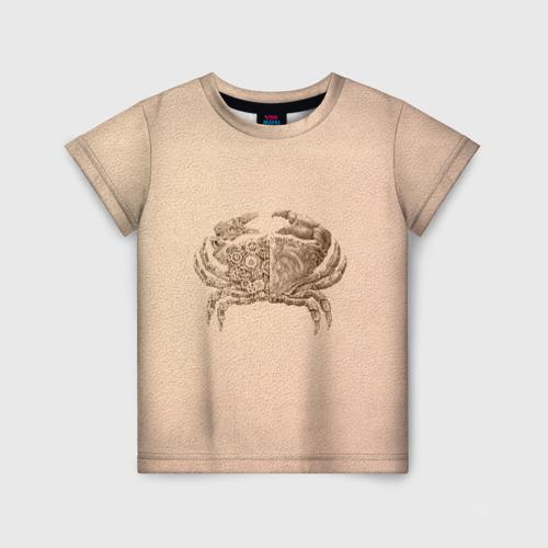 Детская футболка 3D Краб