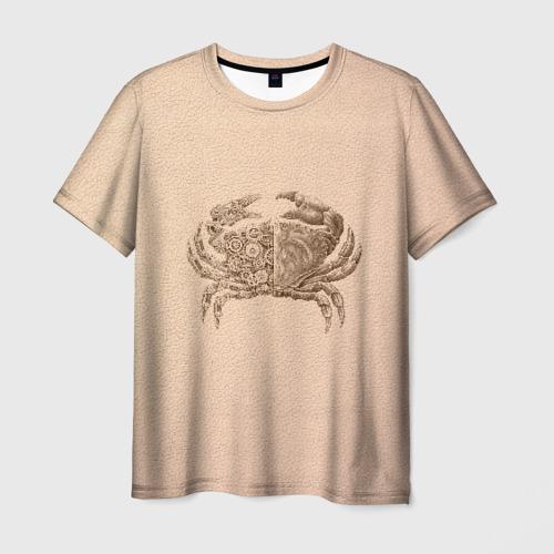 Мужская футболка 3D Краб