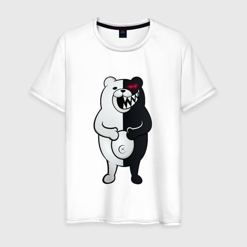 Мужская футболка хлопок Monokuma с пупком