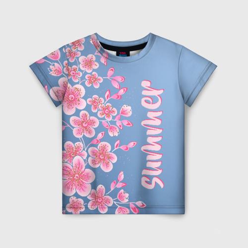 Детская футболка 3D Summer