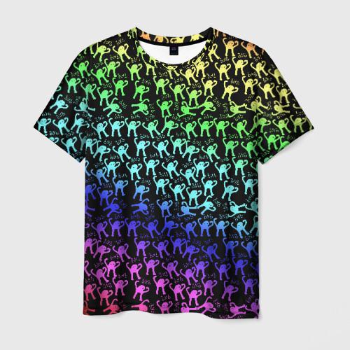 Мужская футболка 3D ЪУЪ