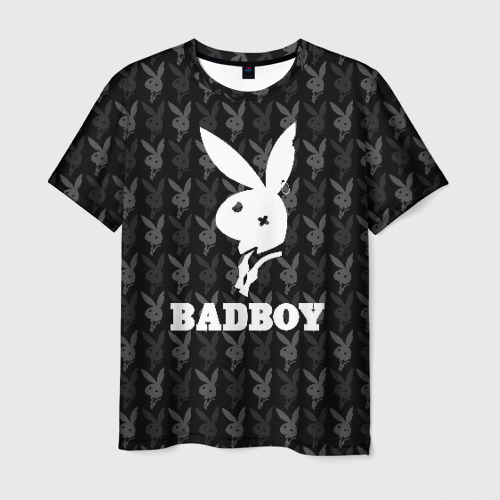 Мужская футболка 3D Bad boy