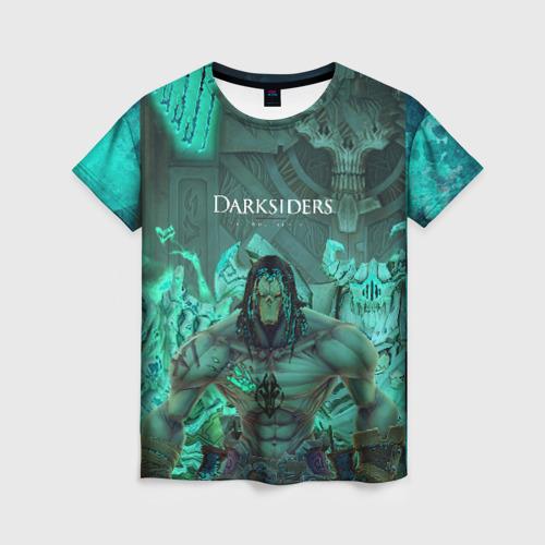 Женская футболка 3D Darksiders 2