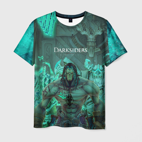 Мужская футболка 3D Darksiders 2