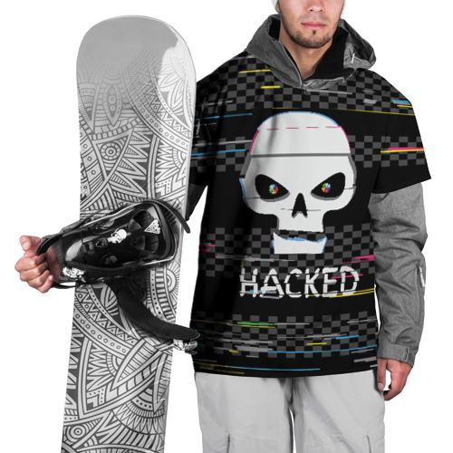 Накидка на куртку 3D Hacked