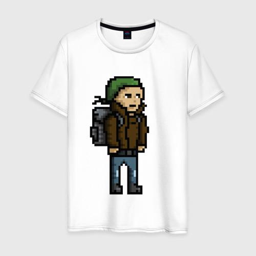 Мужская футболка хлопок Adventurer