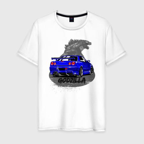 Мужская футболка хлопок R34 GODZILLA