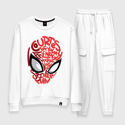 Женский костюм хлопок Spider-Man
