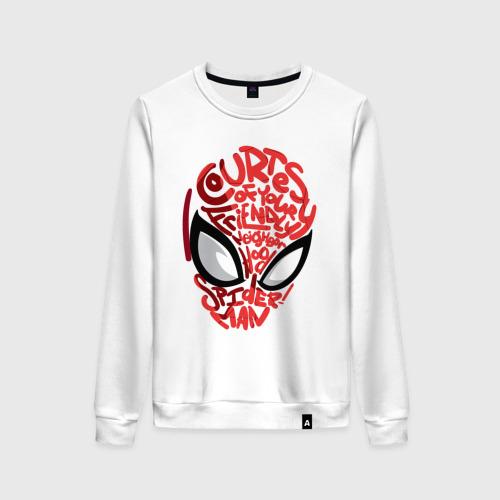 Женский свитшот хлопок Spider-Man