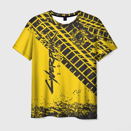 Мужская футболка 3D Cyberpunk 2077