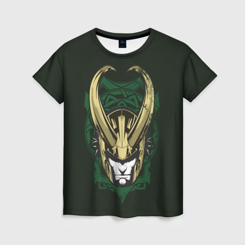 Женская футболка 3D Loki