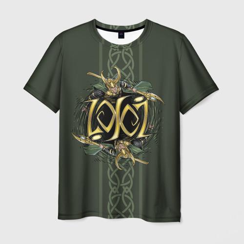 Мужская футболка 3D Loki