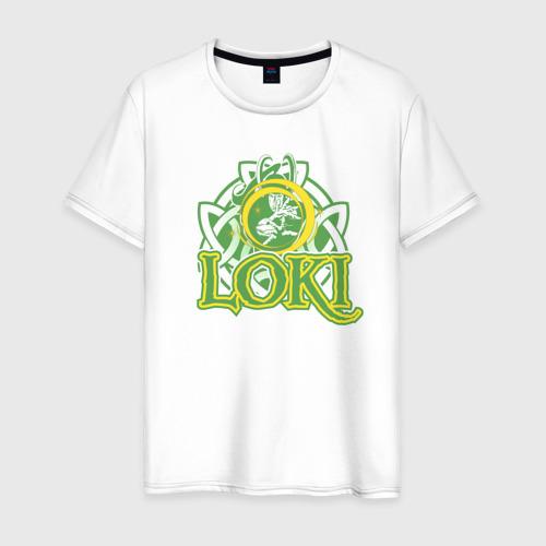 Мужская футболка хлопок Loki Magic