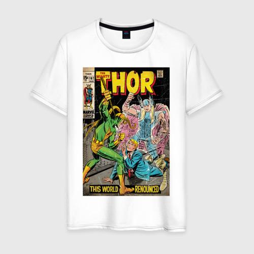 Мужская футболка хлопок Thor and Loki