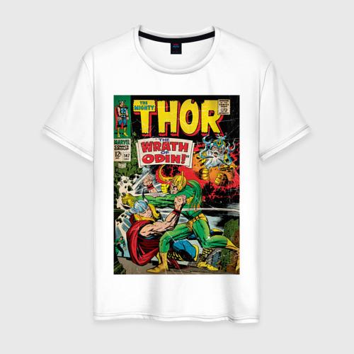 Мужская футболка хлопок Thor vs Loki