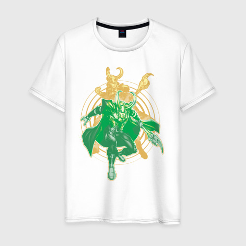 Мужская футболка хлопок Loki
