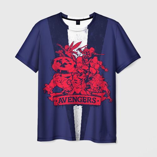 Мужская футболка 3D Avengers