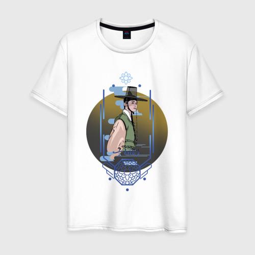 Мужская футболка хлопок Новичок-историк Гу Хэ Рён