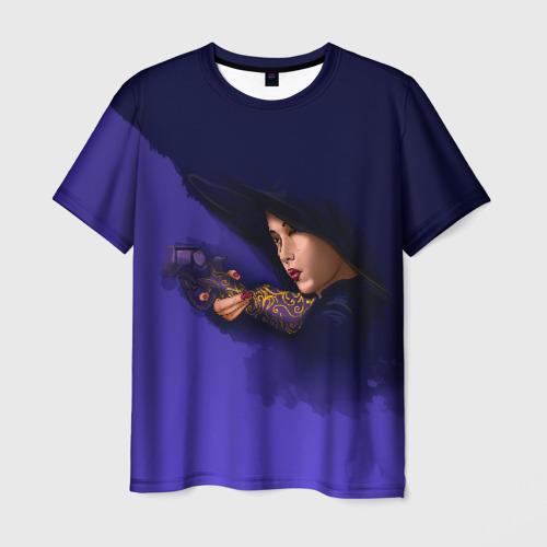 Мужская футболка 3D Отель Дель Луна