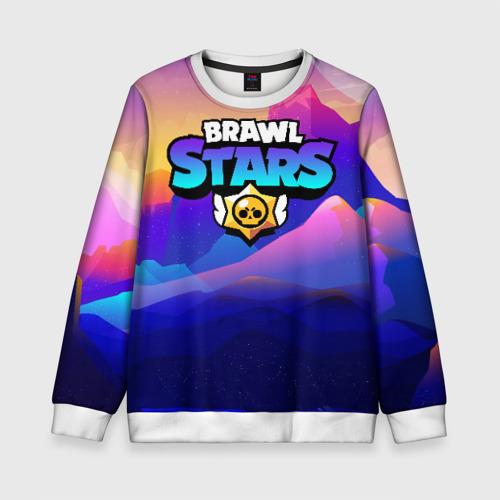 Детский свитшот 3D Brawl Stars