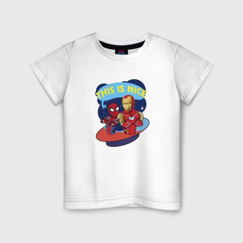 Детская футболка хлопок This is nice
